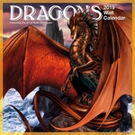2019 Dragon Calendar by Ruth Thompson