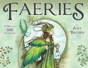 Amy Brown 2019 Fairy Calendar