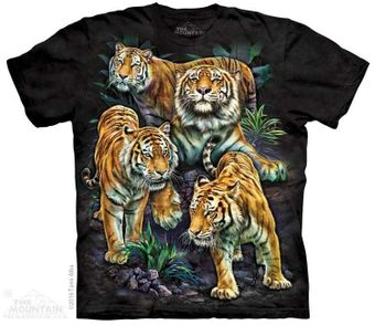 Bengal Tigers Collage T-Shirt