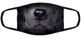 Black Lab Face Mask