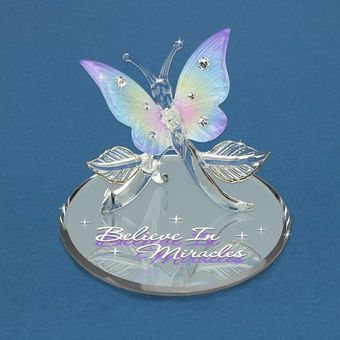 Glass 'Miracles' Butterfly