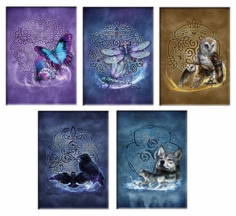 Celtic Animals Magnet Set