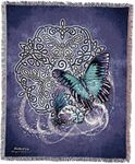Celtic Butterflies Tapestry Blanket