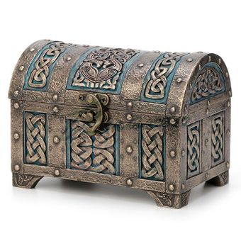 Celtic Knot Treasure Chest