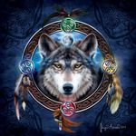 Celtic Wolf Guide Jigsaw Puzzle