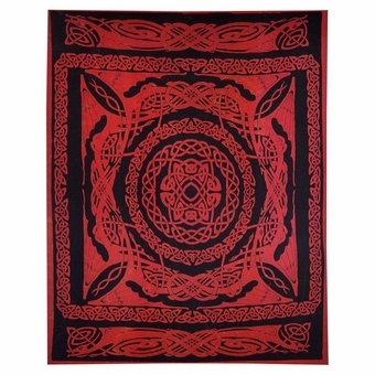 Celtic Knot Dragon Tapestry