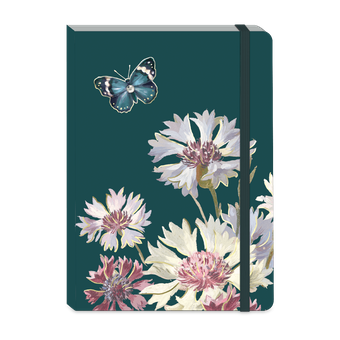 Emerald Wildflowers Soft Cover Journal