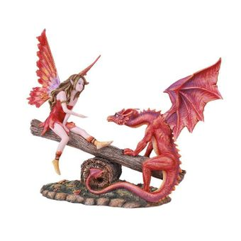 Fairy and Dragon on a Seesaw