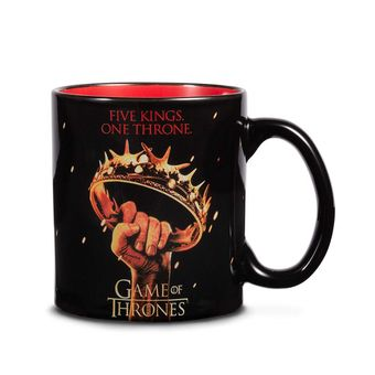 Five Kings One Throne Mug: Game of Thrones