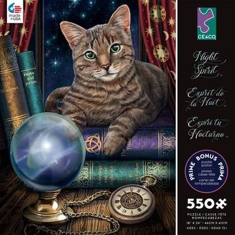 Lisa Parker Puzzle: Fortune Cat 550 pcs