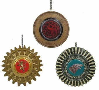 Game of Thrones Gear Ornament Set