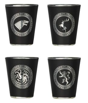 Emblem Shot Glass Set: Game of Thrones