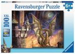 Gift of Fire Wizard and Dragon Puzzle 100 Pcs