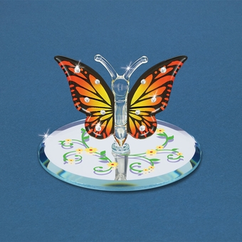 Glass Monarch Butterfly