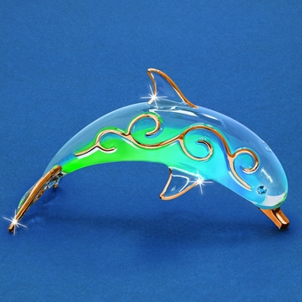 Glass Paradise Dolphin