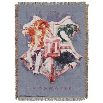 Harry Potter Houses Together Tapestry Throw Blanket