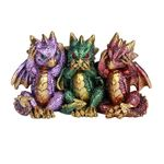 Hear, Speak, See No Evil Dragons