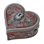 Heart and Key Box