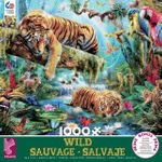 Idyllic Tiger Jigsaw Puzzle (1000 Pieces)