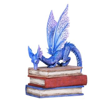 Indigo Book Dragon Figurine