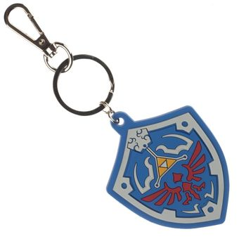 Legend of Zelda Shield Keychain