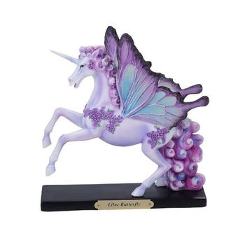 Lilac Butterfly Unicorn