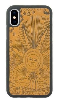 Marigold Roof of Heaven Leather iPhone Case