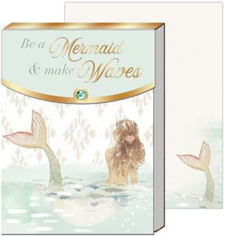Mermaid Waves Pocket Note Pad