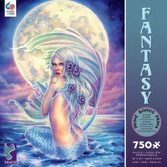Moon Mermaid Puzzle