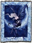 Moon Sprite Fairy Tapestry Blanket