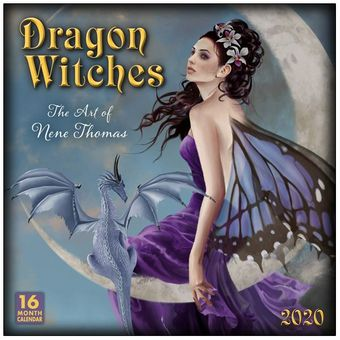 Nene Thomas 2020 Dragon Witch Calendar