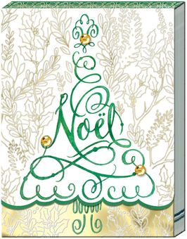 Noel Tree Pocket Note Pad
