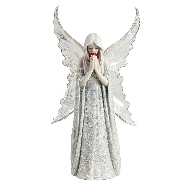 Jan Hagara Lithograph: Only Love Remains Figurine By Anne Stokes: Fairy