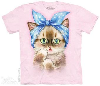 Pin Up Kitten T-Shirt