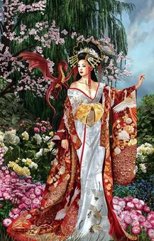 Queen of Silk Jigsaw Puzzle (1000 Pieces)