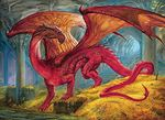 Red Dragon's Treasure Jigsaw Puzzle