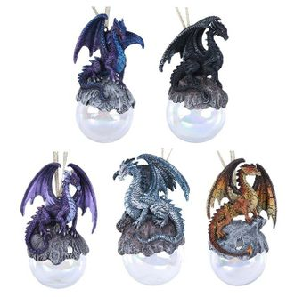 Ruth Thompson Dragon Ornament Set