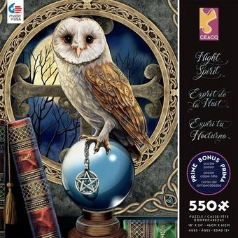 Lisa Parker Puzzle: Spell Keeper Owl 550 pcs