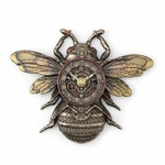 Steampunk Bee Wall Clock