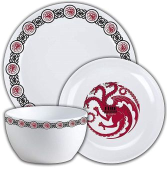 Targaryen Dinnerware Set: Game of Thrones