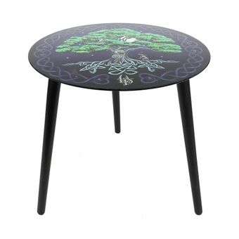 Tree of Life Glass Table