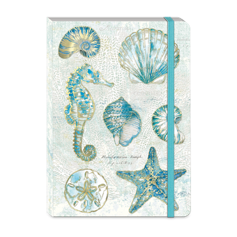 Watercolor Shells Soft Cover Journal