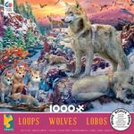 Winter Wolves Jigsaw Puzzle (1000 Pieces)