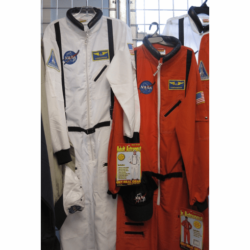 Adult - Astronaut Flight Suit w/ Hat