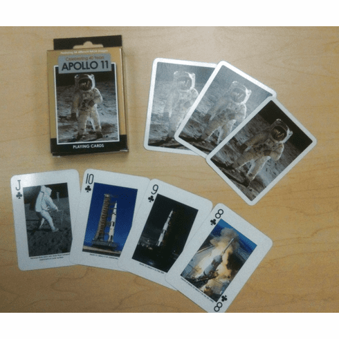 Apollo 11 - Playing Cards