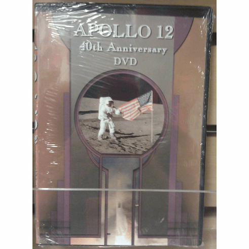 Apollo 12 40th Anniversary DVD