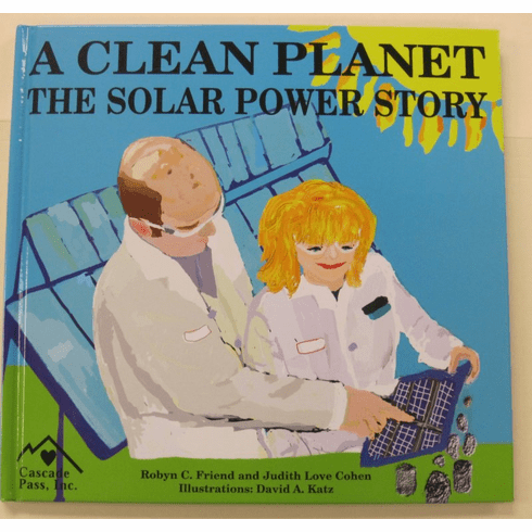 Book - A Clean Planet - The Solar Power Story