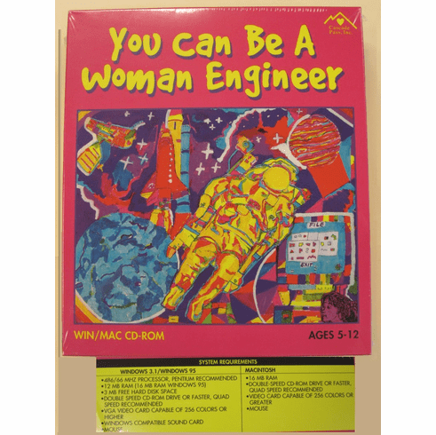 CD ROM - You Can Be A Woman Engineer