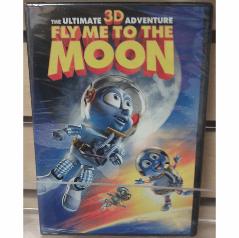 Fly Me to the Moon 3D DVD