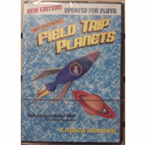 My Fantastic Field Trip to the Planets Kids DVD